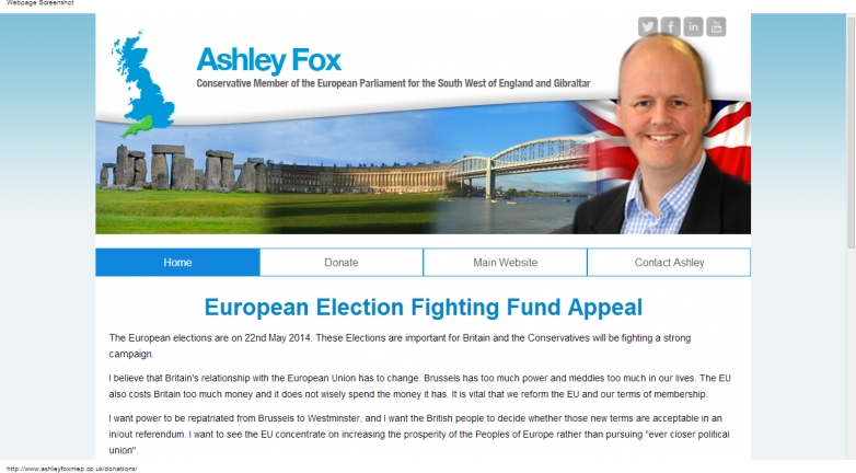 Ashley Fox MEP